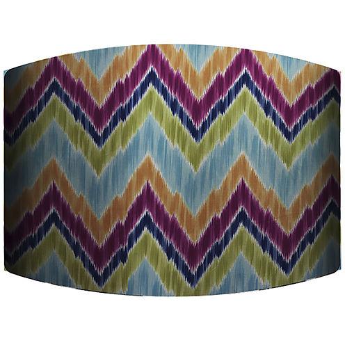 Zigzag Drum Lamp Shade