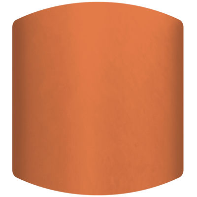 Bright Orange Drum Lamp Shade