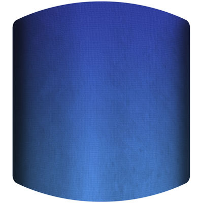 Blue Gradient Drum Lamp Shade