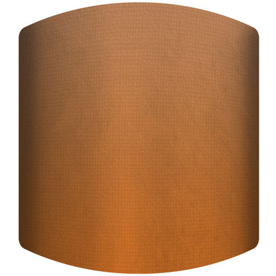 Dark Orange Drum Lamp Shade