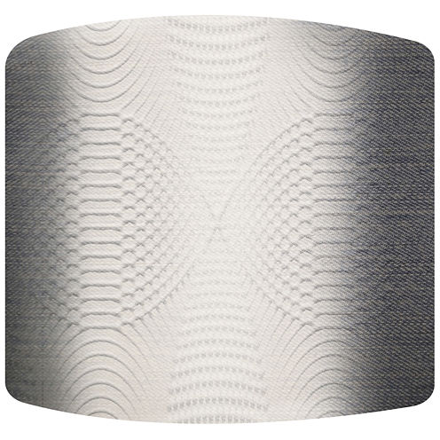 Spiral Stripes Drum Lamp Shade