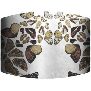 jcpenney.com | Butterfly Cascade Drum Lamp Shade
