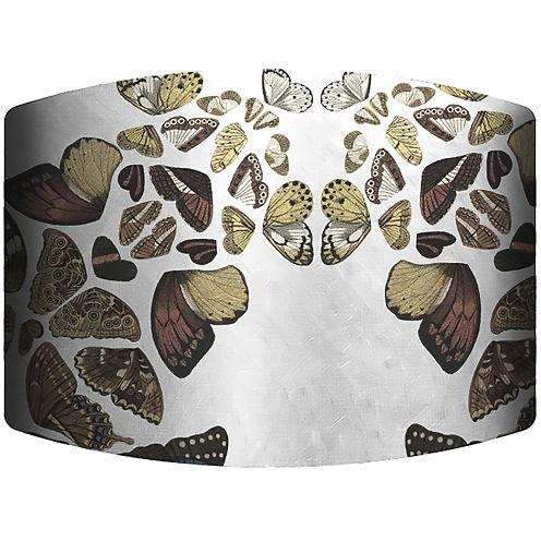 Butterfly Cascade Drum Lamp Shade