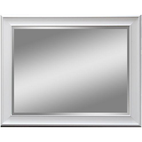 Aries Glossy Finish Beveled Wall Mirror