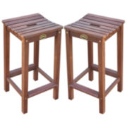 Humboldt Set of 2 Bar Stools