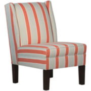 Diane Wingback Chair - Eze Coral