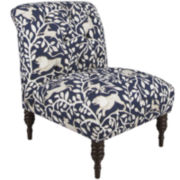 Smith Tufted Chair - Pantheon Admiral