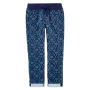 Arizona Knit-Waist Cropped Jeans - Girls 7-16 and Plus