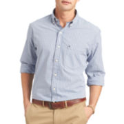 IZOD® Long-Sleeve Easy-Care Poplin Shirt
