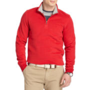 IZOD® Sueded Fleece Quarter-Zip Pullover