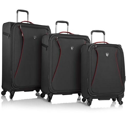 Heys® Helix Softside 3-pc. Spinner Luggage Set