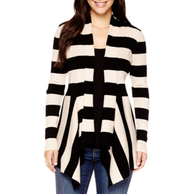 jcpenney.com | St. John's Bay® Long-Sleeve Ribbed Flyaway Cardigan
