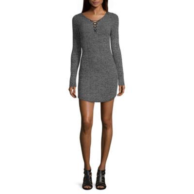Long Sleeve Sweater Dresses for Juniors