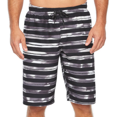 6d70e5c628 Nike Block Stripe Breaker 11 Volley Short Stripe Trunks JCPenney