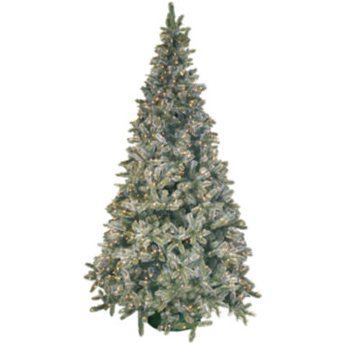 jcpenney.com | 9' Pre-Lit Frosted Pine Christmas Tree
