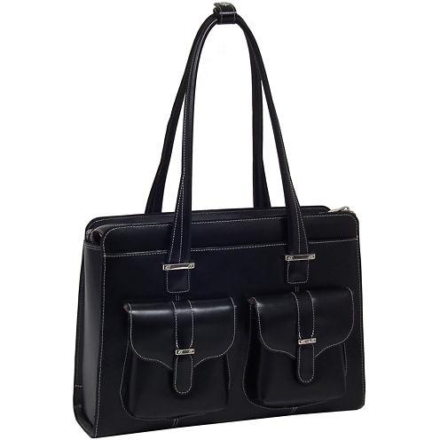 "McKleinUSA Alexis 14"" Leather  Laptop Briefcase"