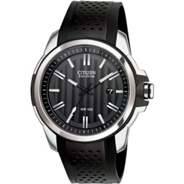 jcpenney.com | Drive from Citizen® Eco-Drive® Black Strap Watch AW1150-07E