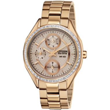 jcpenney.com | Drive from Citizen® Eco-Drive® Gold-Tone Watch  FD1063-57X