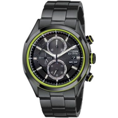jcpenney.com | Drive from Citizen® Eco-Drive® Mens Black  Watch CA0435-51E