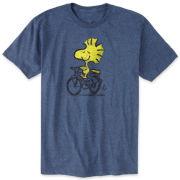 Peanuts® Woodstock on Bicycle Graphic Tee