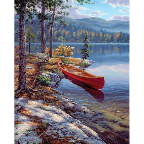 """9x12"""" Paint By Number Artist's Collection Kit - Time Well Spent"""