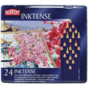 24-Tin Derwent Inktense Water-Soluble Pencil Set