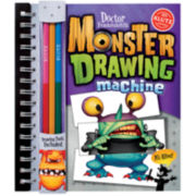 Monster Drawing Machine Book Kit