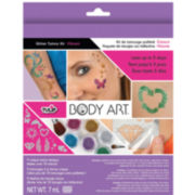 Vibrant Tulip Body Art Glitter Tattoo Kit