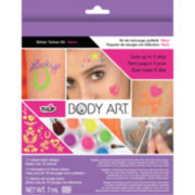 Neon Tulip Body Art Glitter Tattoo Kit