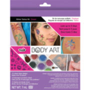 Classic Tulip Body Art Glitter Tattoo Kit