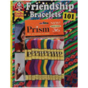 Friendship Bracelets 101 Book and Prism Floss Pack