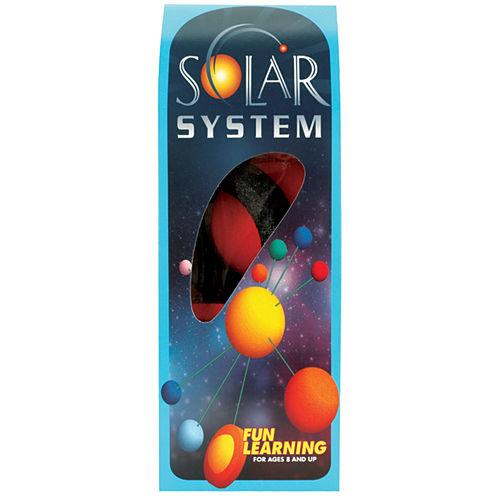 Painted Styrofoam Solar System Kit