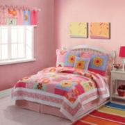 Olivia Floral Quilt Set