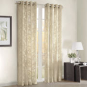 Figaro Grommet-Top Curtain Panel