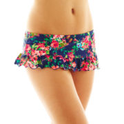 Arizona Flirt Retro Skirted Swim Bottoms - Juniors