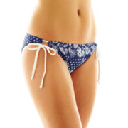 Arizona Bandana Paisley Adjustable Hipster Swim Bottoms