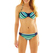 Arizona Striped Macramé Swim Separates