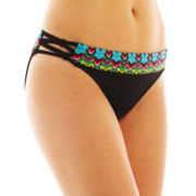 a.n.a® Banded Hipster Swim Bottoms