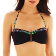 a.n.a® Underwire Bandeau Pushup Bra Swim Top