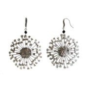 ZOË + SYD Crystal Sunburst Drop Earrings