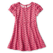 Arizona Print Skater Dress - Girls 12m-6y