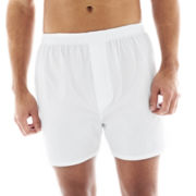 Stafford® 4-pk. Cotton Boxers