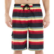 Burnside® Mayan Ruined E-Board Shorts