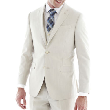 jcpenney.com | J.F. J Ferrar® Regular Fit Bone Suit Jacket