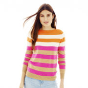 Joe Fresh™ Striped Boatneck Sweater