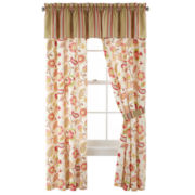 jcp home™ Tapestry Rose Curtain Panel Pair