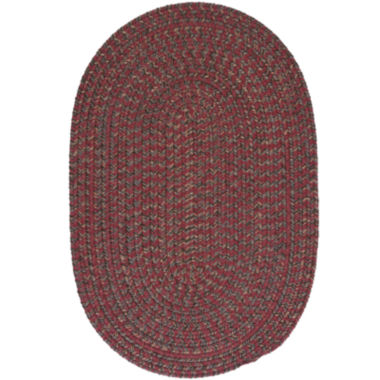 jcpenney.com | Colonial Mills® Grafton Tweed Reversible Braided Oval Rug