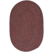 Grafton Tweed Reversible Braided Oval Rug