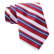 Stafford® James Stripe Silk Tie