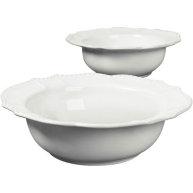 jcpenney.com | Le Provence Set of 2 French Country Serving Bowls